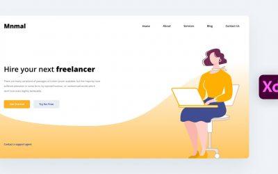 Do It Yourself – Tutorials – Web Design in Adobe XD Tutorial (2021)