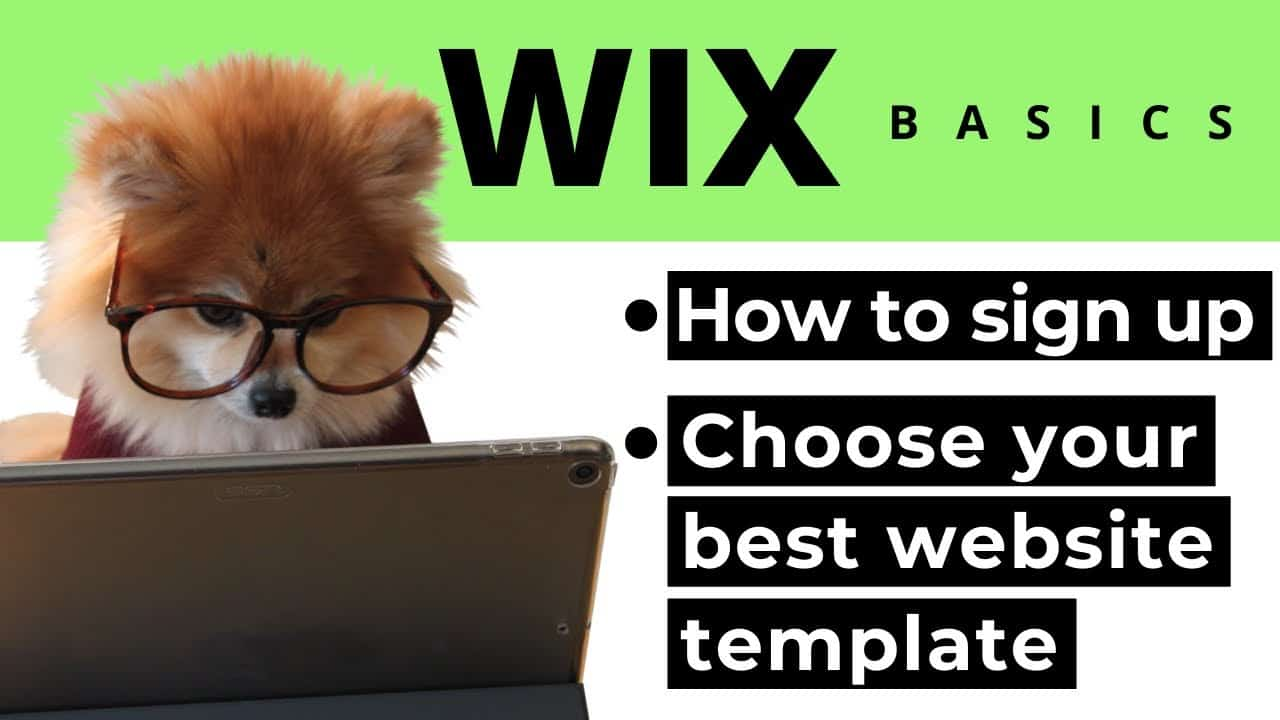 Wix Website Tutorial | How to Sign Up for a FREE Website & Choose Your Best Template