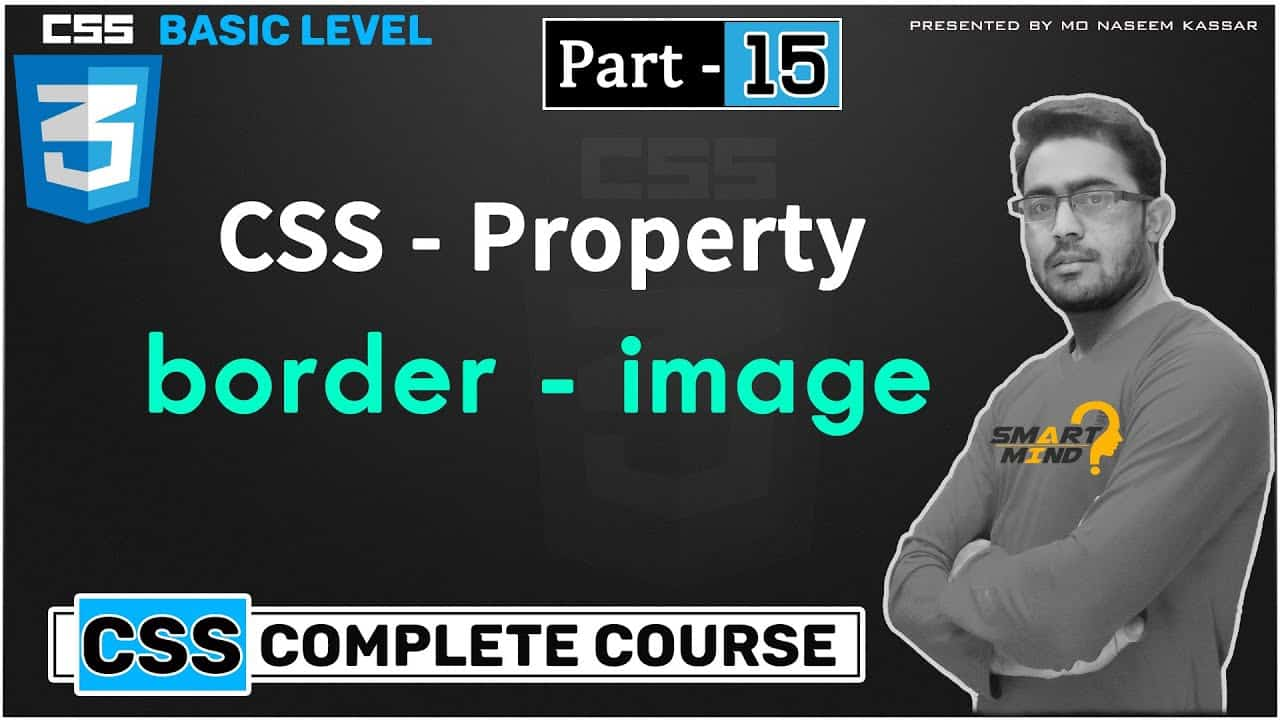 Border image property in css for beginners in hindi by smart mind -  #15