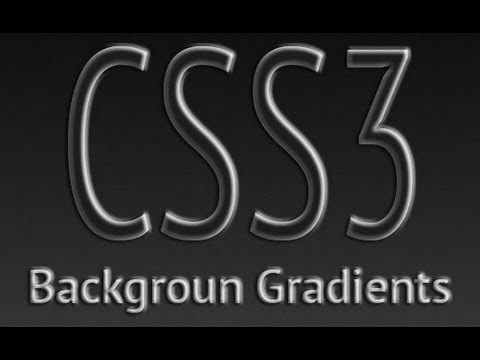 Background Gradients CSS & HTML5