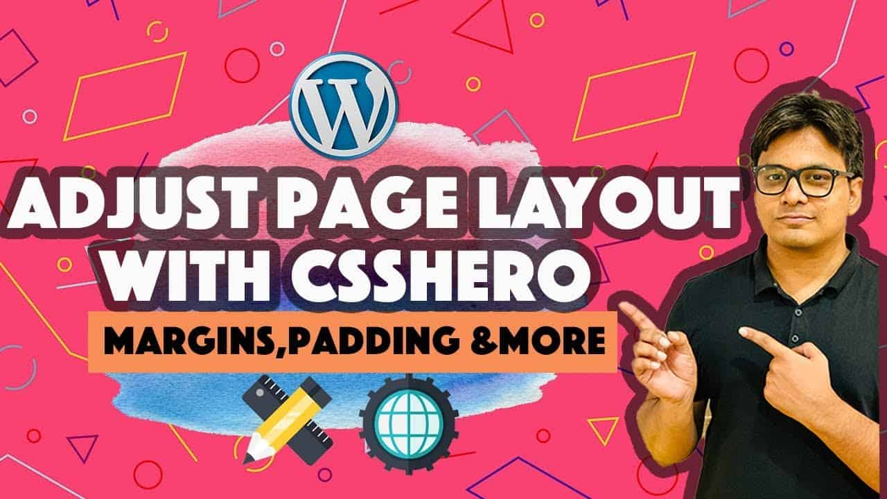 How to Adjust Wordpress page layout using CSS Hero