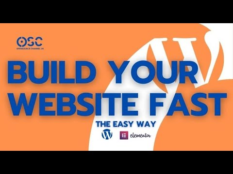 How To Make A Website Fast With Elementor And Professional For Beginners