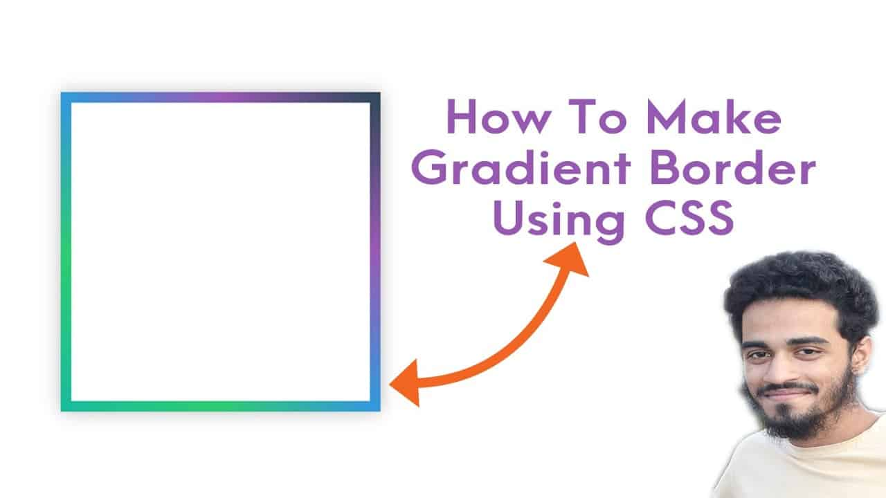 How to make gradient border using HTML & CSS | Muhibbullah Ansary