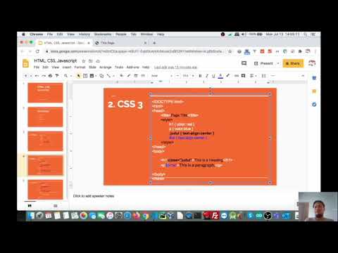 HTML CSS Javascript Basic Tutorial