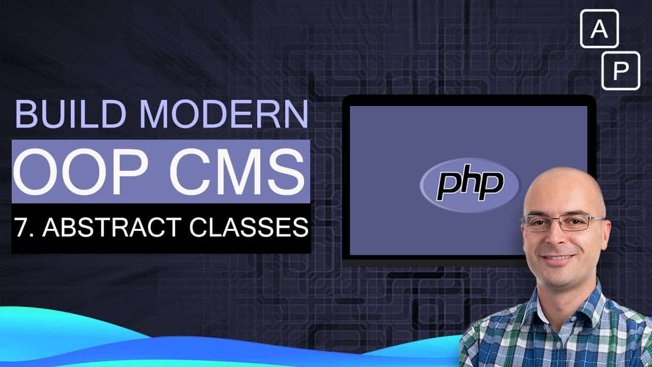 8. Modules and PHP Abstract class | Build a CMS using OOP PHP CMS tutorial MVC [2020]