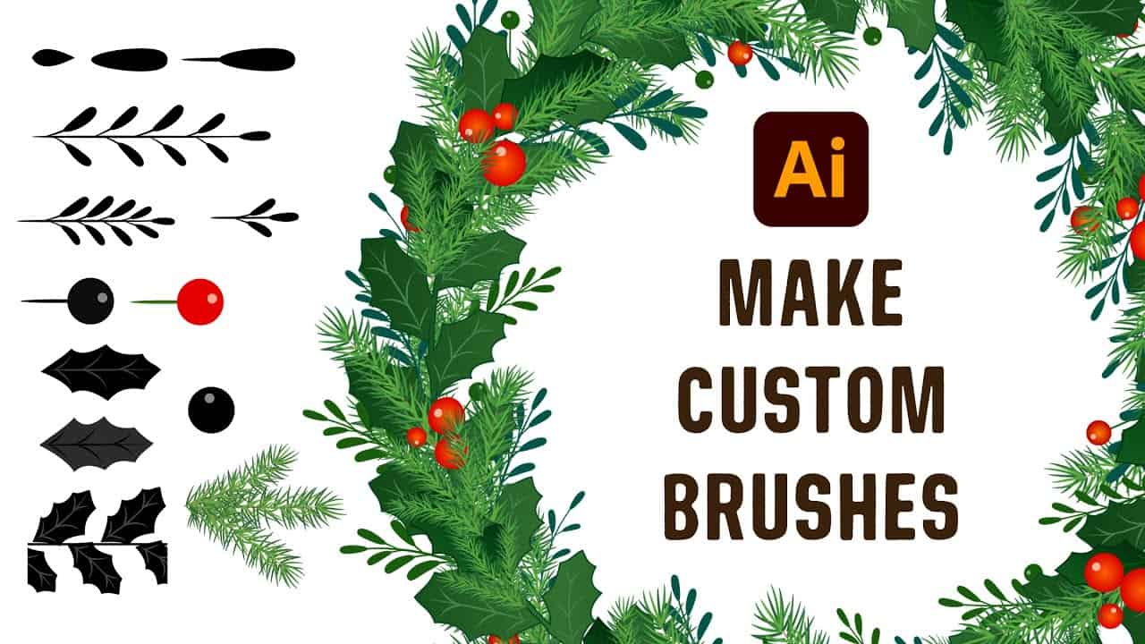 Adobe Illustrator Tutorial   How to Create and Draw with Your Own Brushes