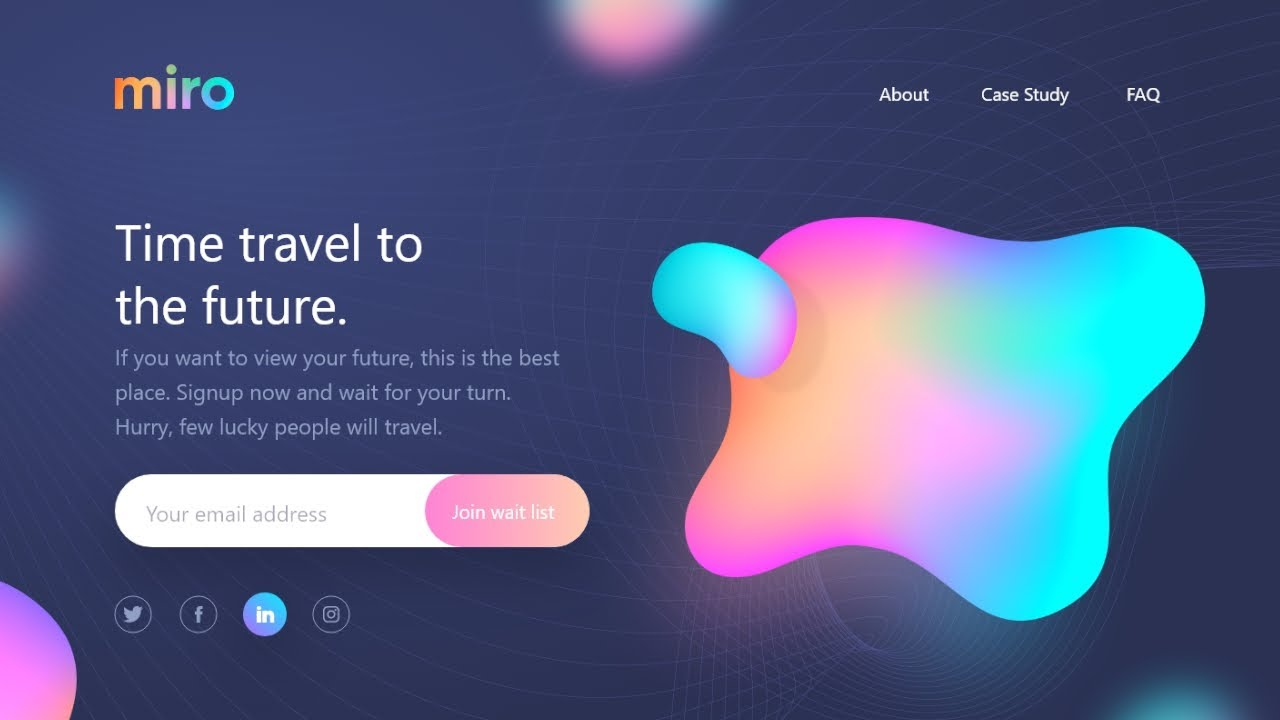 Build A Responsive Website With Animations | HTML & CSS Tutorial
