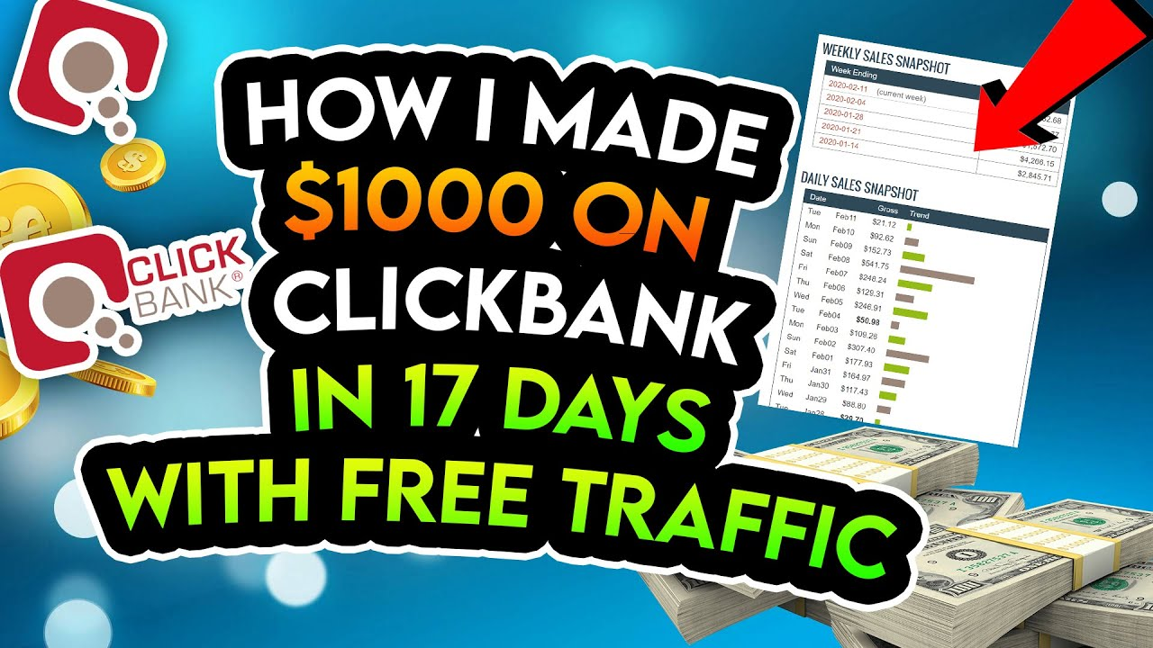 Complete ClickBank Tutorial - How I Make $1000 From A One Page Website On Autopilot [Step By Step]