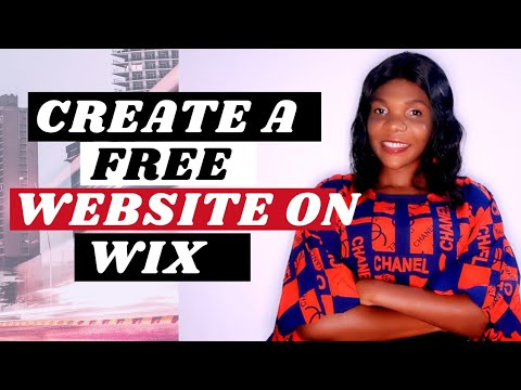 Create a FREE Website in WIX ( FULL TUTORIAL) | How to Create a WEBSITE in Wix