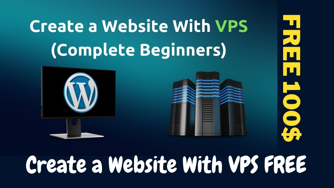 Create a Website With VPS FREE (VPS Vultr Free 100$) - How To Create a Website With VPS Hosting FREE