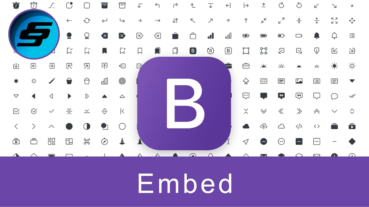 Embed - Bootstrap 5 Alpha Responsive Web Development and Design