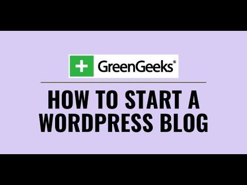 Greengeeks Review Wordpress Tutorial 2020: How To Create A Wordpress Website [For Beginners]