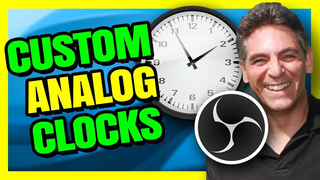How To Add A Clock On OBS Studio - LUA Script With Multiple Faces Or Design Your Own