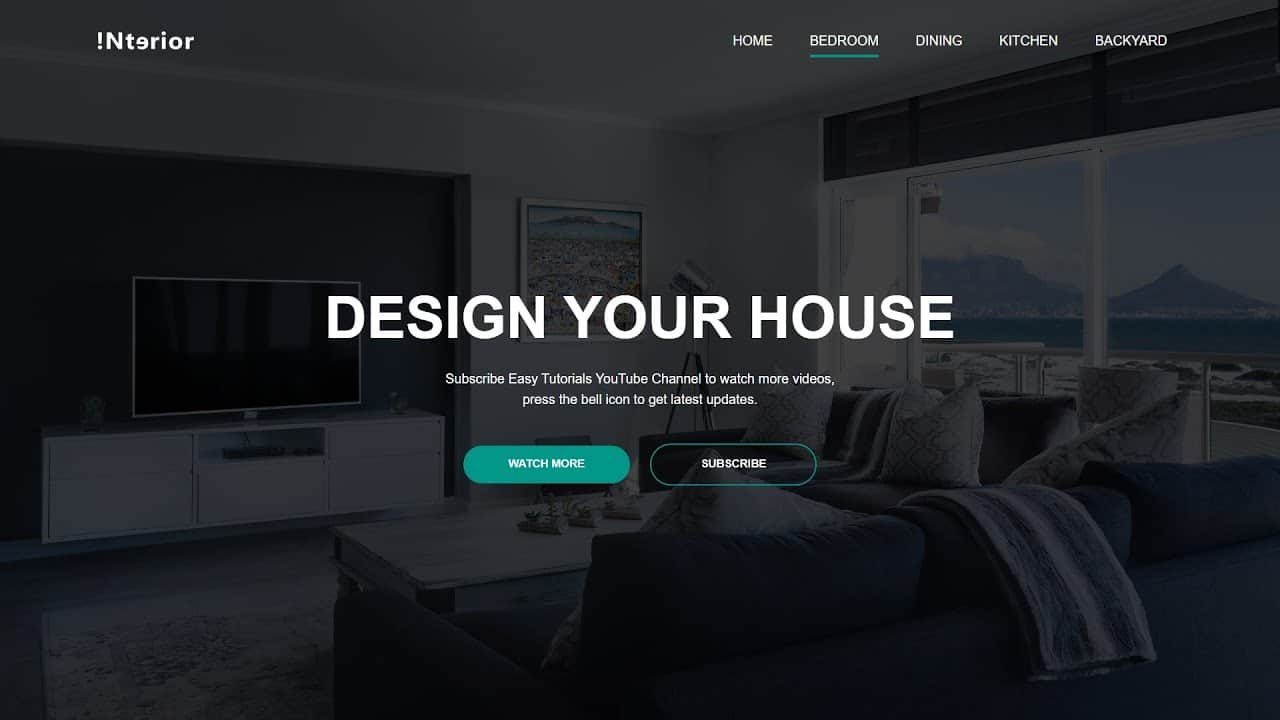 How To Make Website Using HTML And CSS | Website Design With HTML And CSS