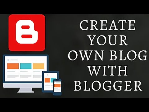How to Create Your Own Blog Or website Quick and Easy on Blogger Create a website for beginners 2020