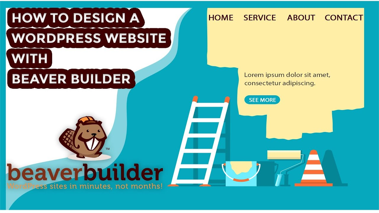 How to Create a WordPress Website with Beaver Builder