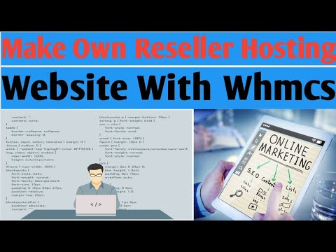 Make Own Web Hosting Reseller Website In [ HINDI ] Part 1