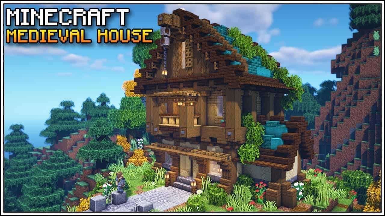 Minecraft: How to Build a Medieval House | Survival Medieval House Tutorial