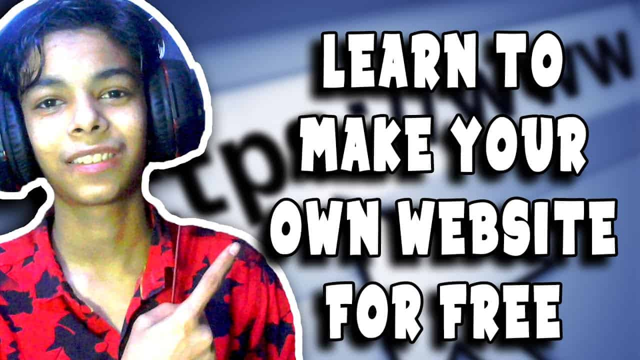 (PART 1) LEARN TO CREATE YOUR OWN WEBSITE FOR FREE || TUTORIAL || LAGGY GAMERZ ||