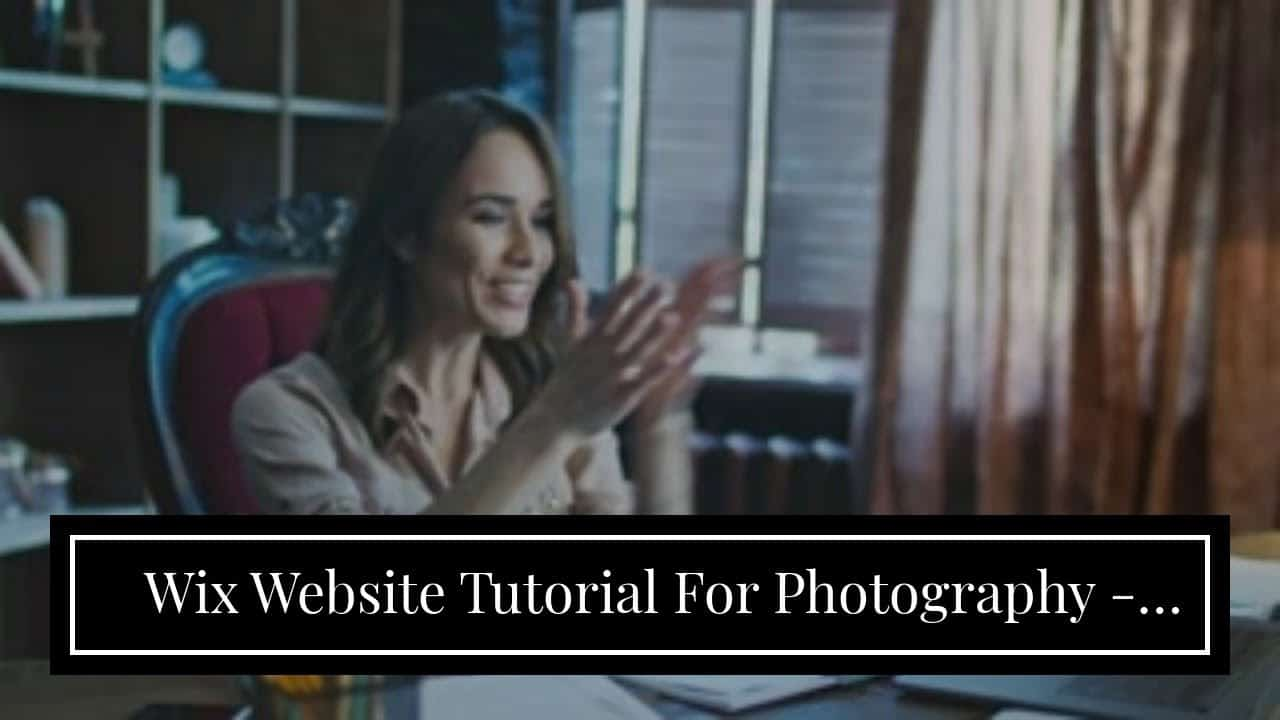 Wix Website Tutorial For Photography - Can I  Design A Website For  Inexpensive?