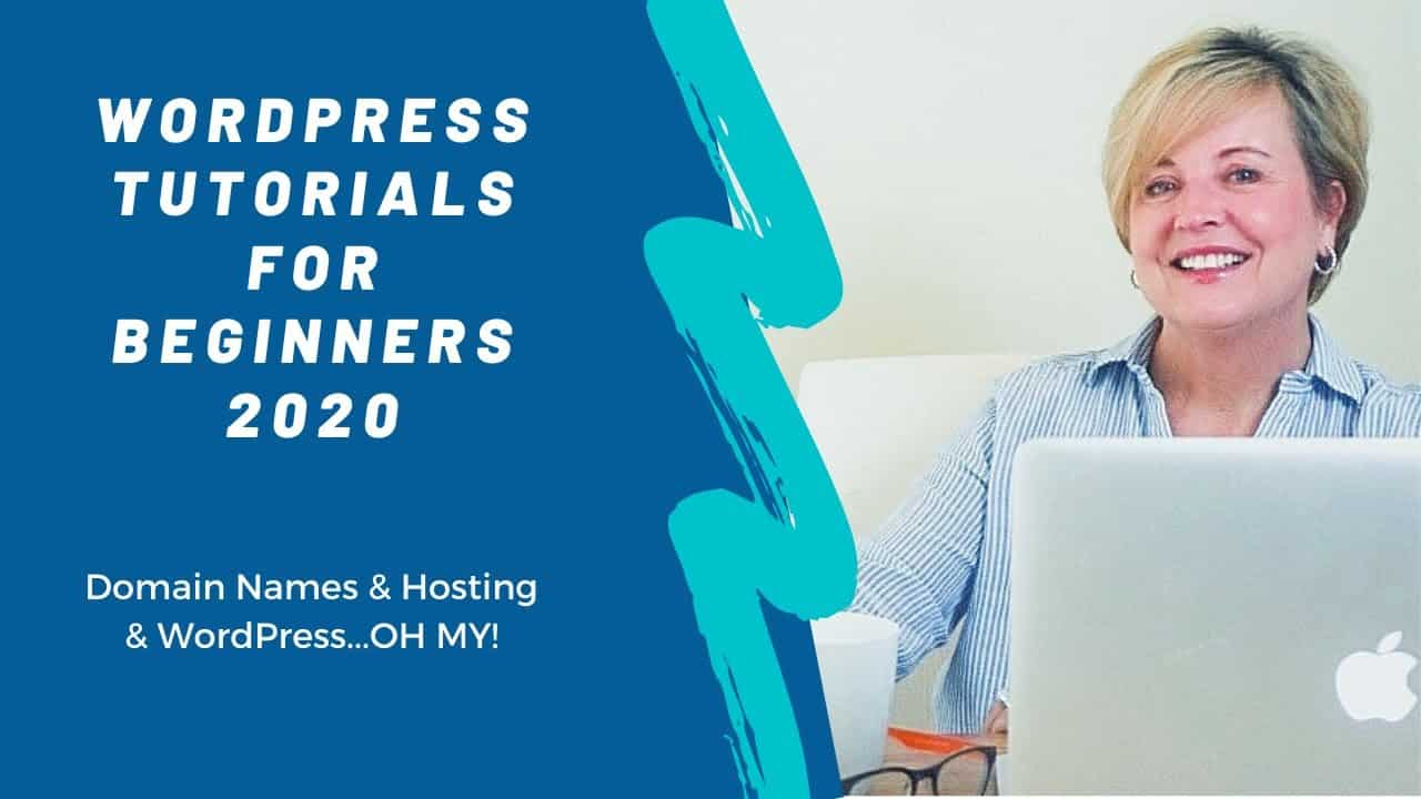 Getting Started with WordPress Tutorial for Beginners 2020