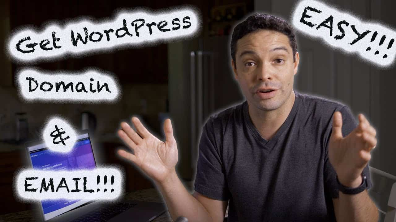 WordPress tutorial for beginners! Get WordPress &  Professional Email one click install and setup!