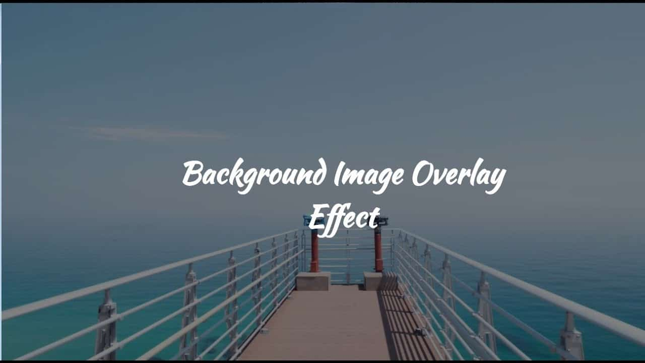 How to Add Overlay to Background Image in Html and CSS | Linear-gradient in CSS