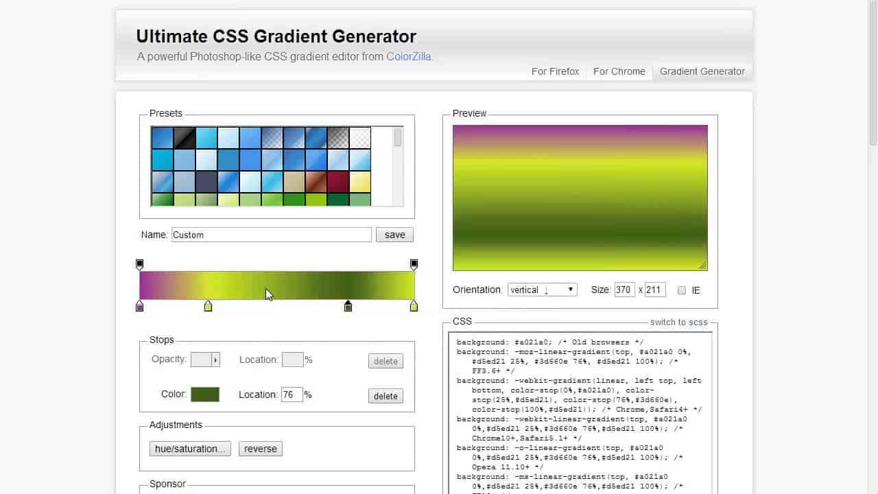 Ultimate CSS Gradient Generator Tutorial