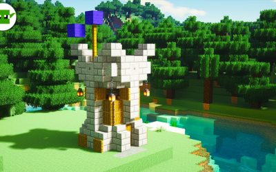 Do It Yourself – Tutorials – Minecraft | How to Build a Small Fortified Tower