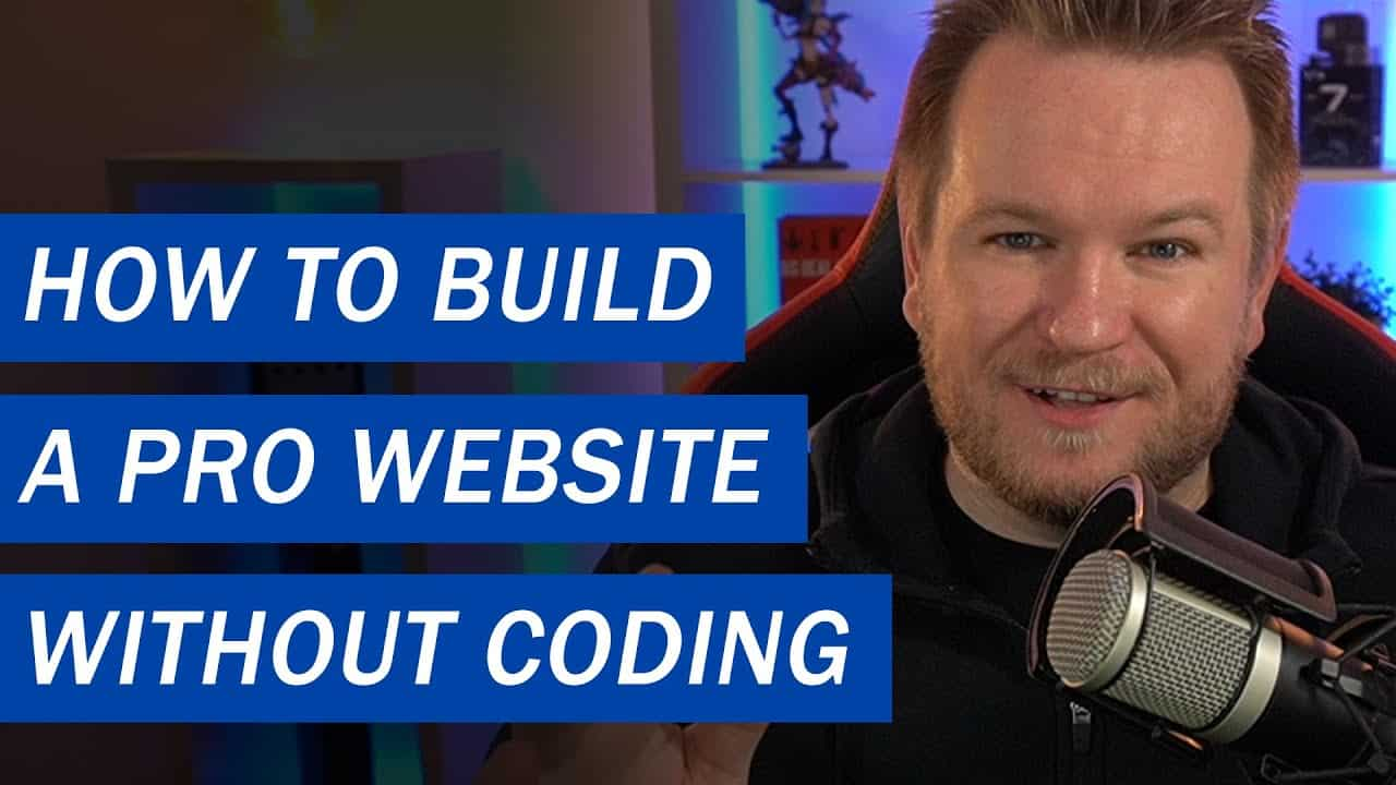 How to build a professional website without coding skills in only one day and for under 100$