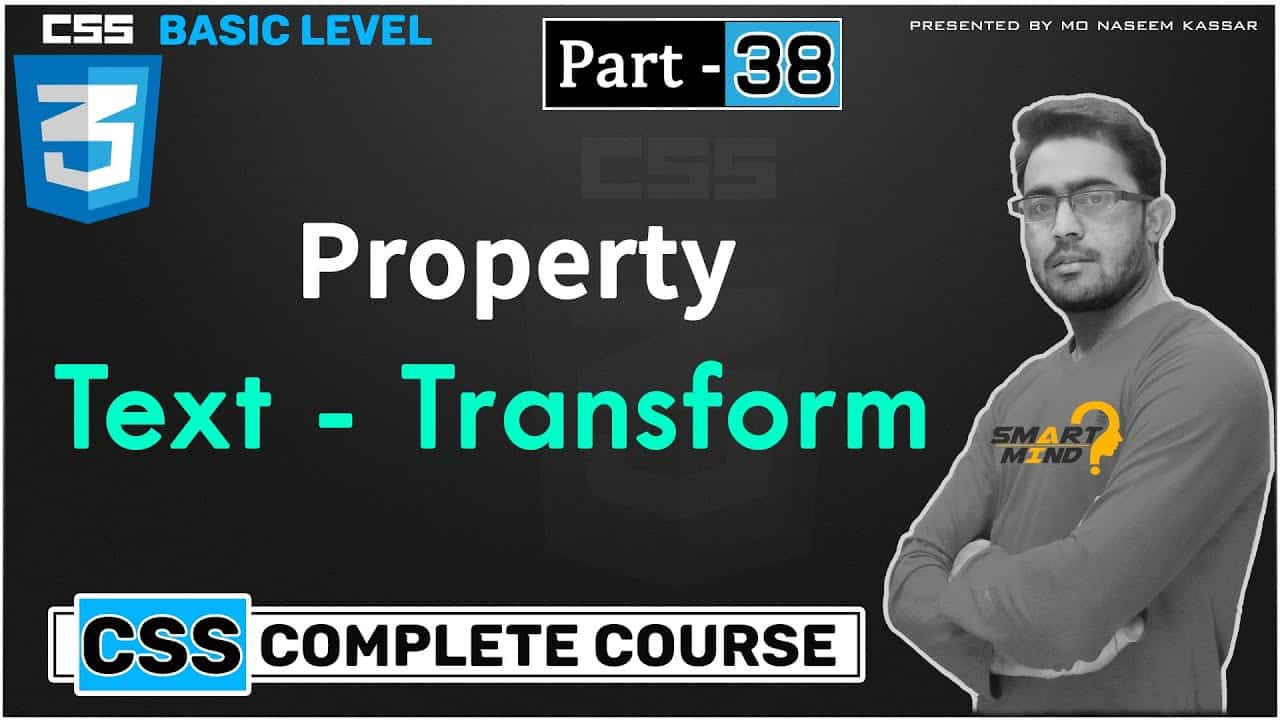 What is text transform and how to use text transform in css for beginners in hindi #38