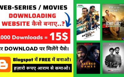 Do It Yourself – Tutorials – How To Create A Movies & Webseries Downloading Website In Hindi 2021 | Full Tutorial | Blogspot