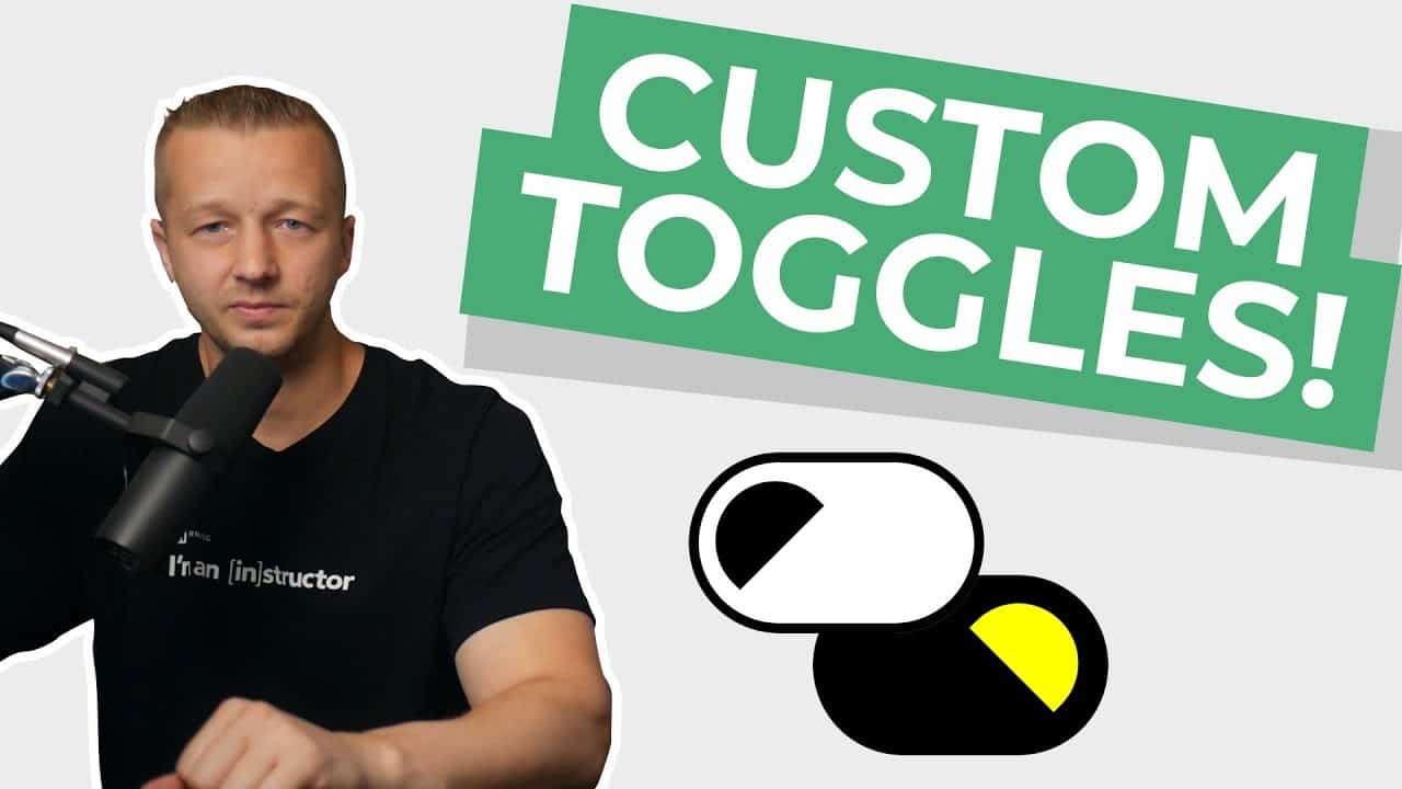 Create a Custom Toggle Switch with Pure CSS from Scratch