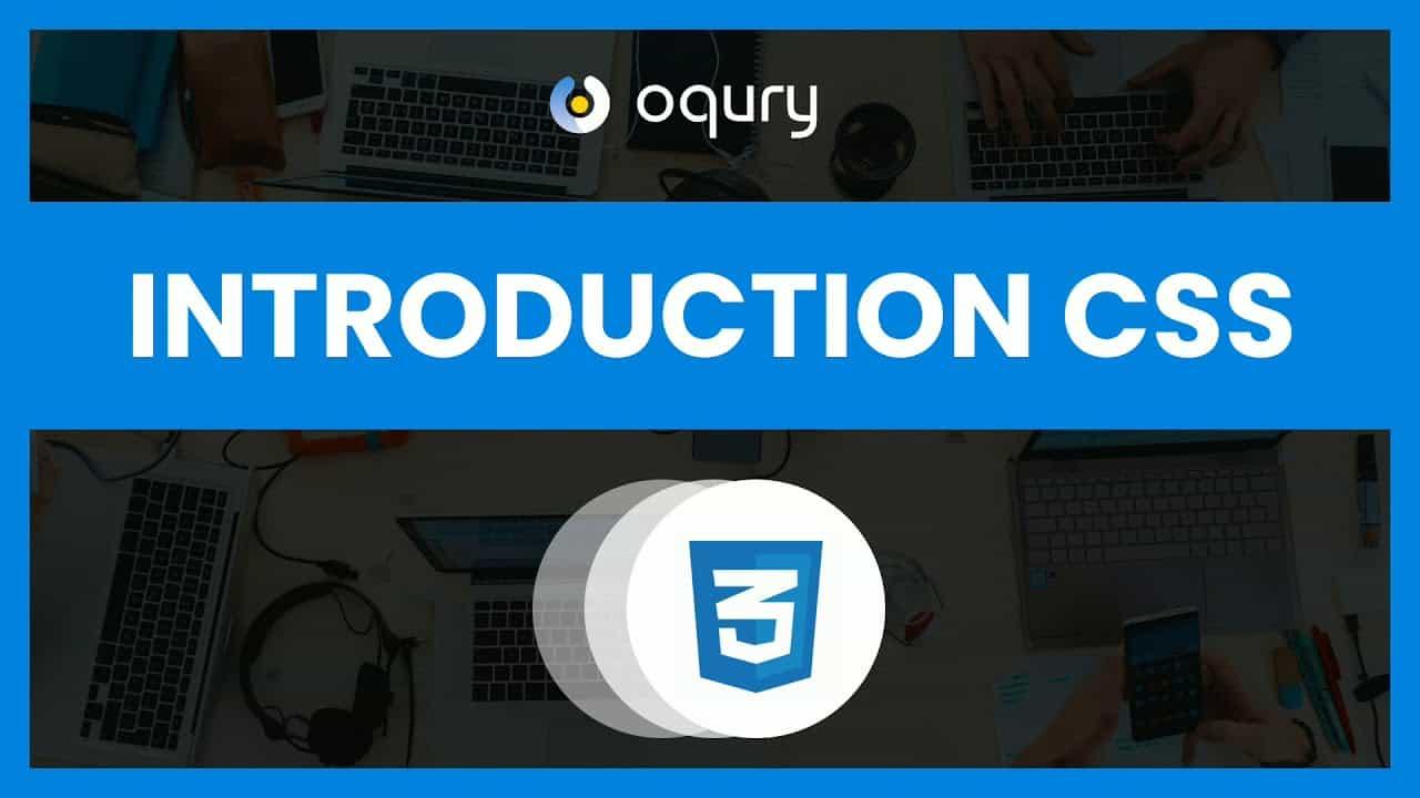 #1 Introduction CSS Dasar Kelas Oqury Studio