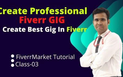 Do It Yourself – Tutorials – How to Create a Professional Fiverr Gig || Fiverr Gig Ranking | Fiverr Market Tutorial | Live Class3