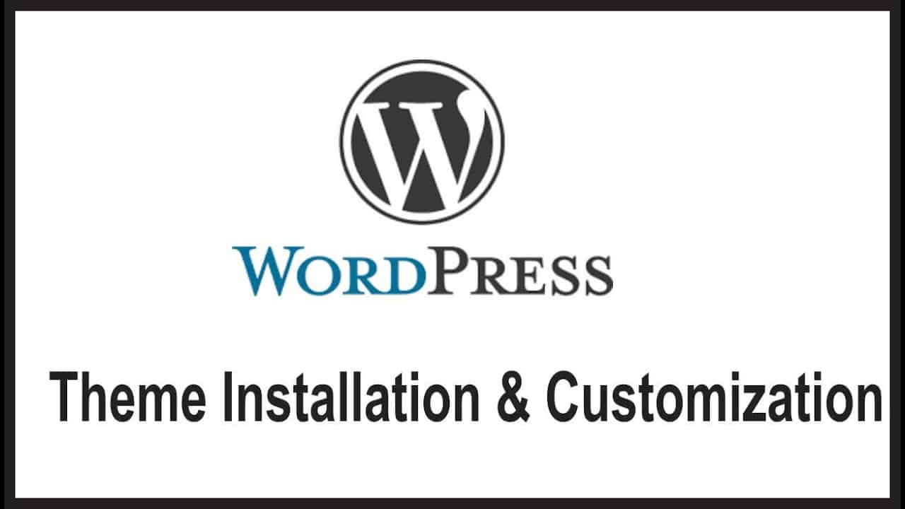 WordPress Tutorials in Hindi / Urdu for Beginners - Theme Installation & Customization