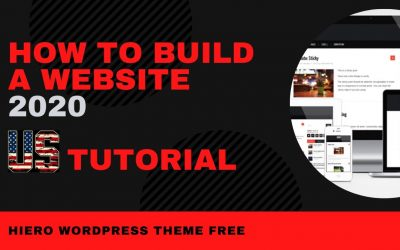 Do It Yourself – Tutorials – How To Build A Website US. Hiero Theme Complete Tutorial And Step By Step Guide 2020 [Made Easy]