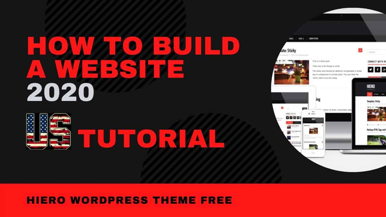 How To Build A Website US. Hiero Theme Complete Tutorial And Step By Step Guide 2020 [Made Easy]