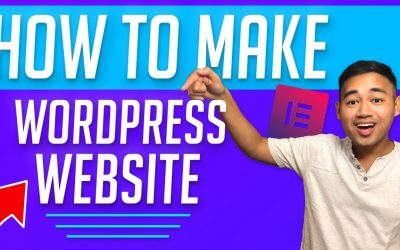 Do It Yourself – Tutorials – How to Make a WordPress Website 2021 – Beginner Tutorial using Elementor
