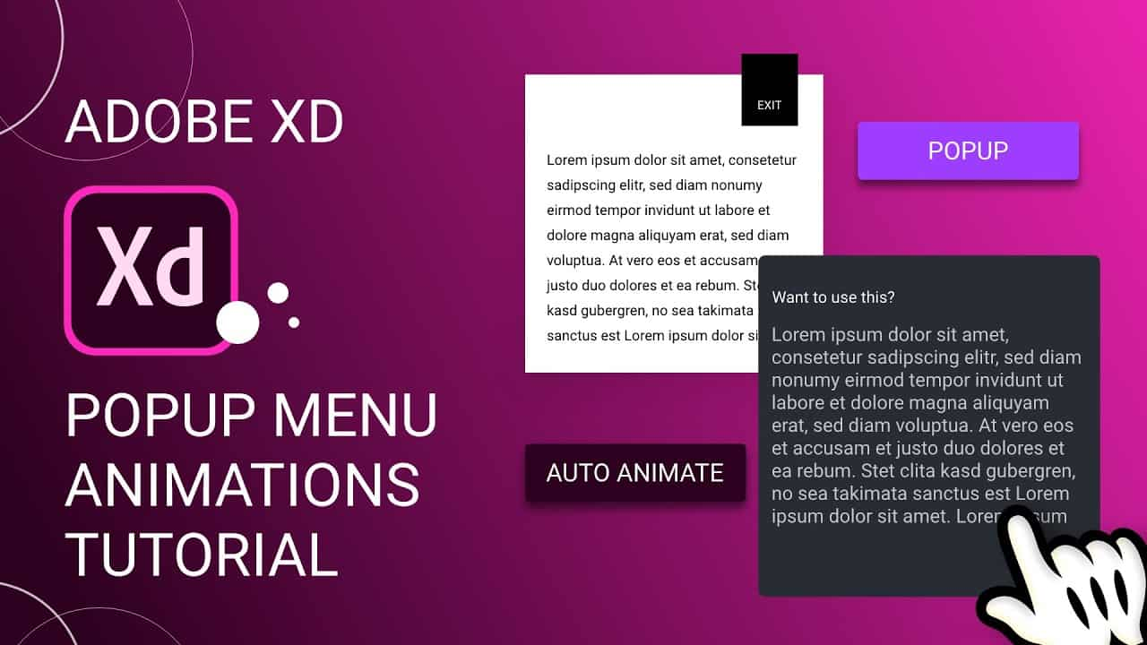 Cool Popup Animations in Adobe Xd + Export as HTML/CSS   Design Weekly
