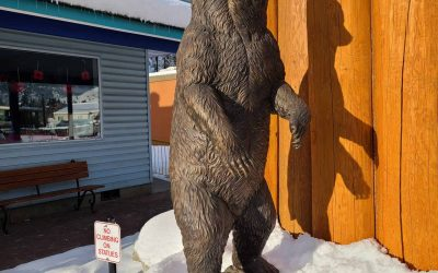 Princeton, BC is the Bronze Statue Capital of Canada