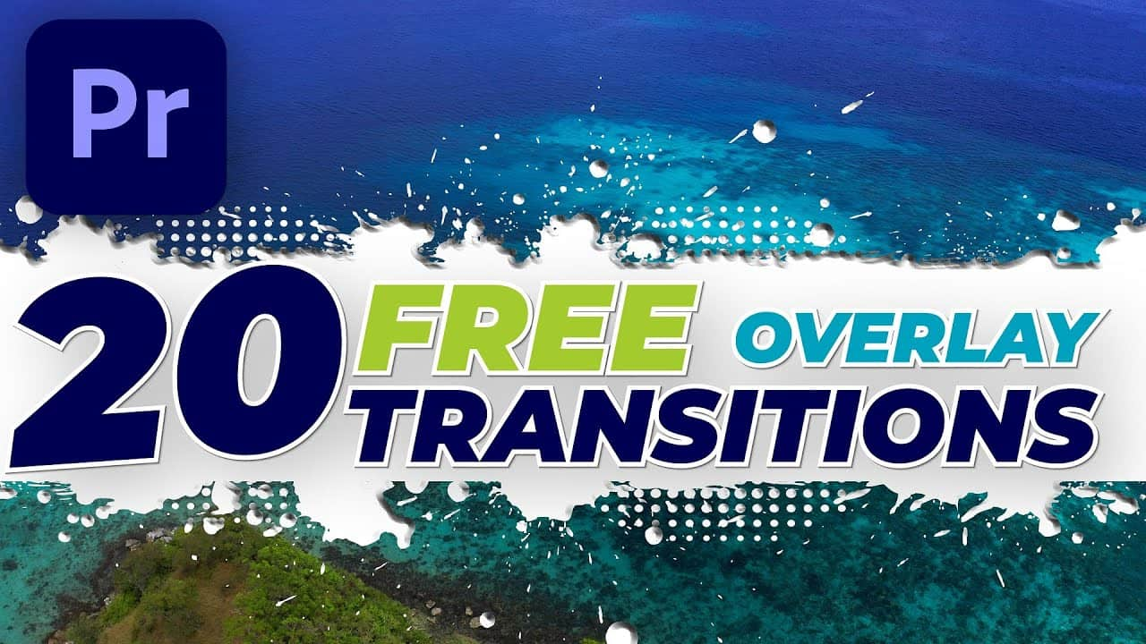 20 FREE Overlay transitions #21-40 + Premiere Pro tutorial
