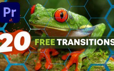Do It Yourself – Tutorials – 20 FREE TRANSITION matte overlays + Premiere Pro tutorial