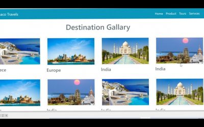 Do It Yourself – Tutorials – A Responsive Travels Website Using HTML CSS Bootstrap | Complete  Bootstrap Website Design Tutorial