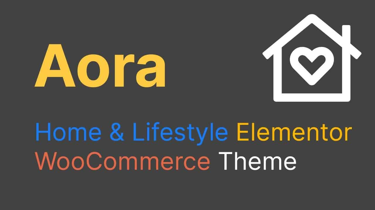 Aora Theme Tutorial - How To Create A Ecommerce Website Using Aora Theme