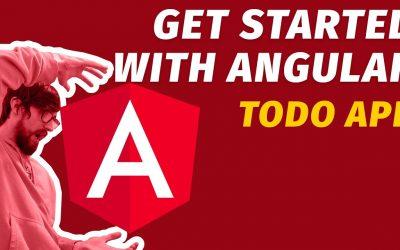 Do It Yourself – Tutorials – Build Your First ANGULAR Web app ~ Beginner Angular Todo app