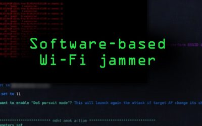 Do It Yourself – Tutorials – Build a Software-Based Wi-Fi Jammer with Airgeddon [Tutorial]