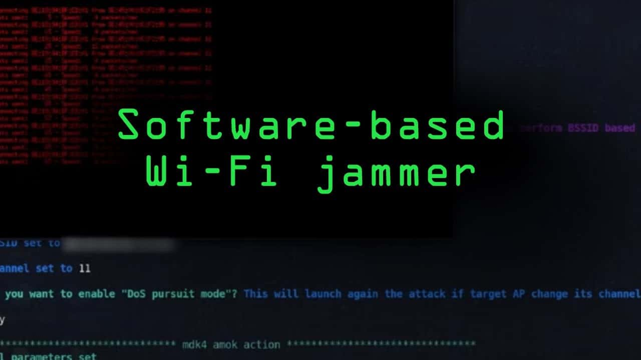 Build a Software-Based Wi-Fi Jammer with Airgeddon [Tutorial]