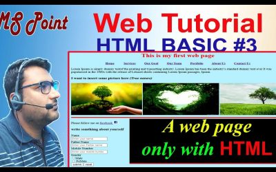 Do It Yourself – Tutorials – Build a website #Basic HTML #3