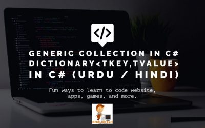 Do It Yourself – Tutorials – C# – Generic Collection | Difference Between NON-GENERIC AND Generic Collections IN C# | Dictionary